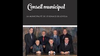 Conseil municipal  - Saint-Ignace-de-Loyola  (7 Avril 2020)
