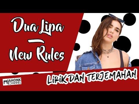Dua Lipa - New Rules (Lirik Dan Terjemahan Indonesia)