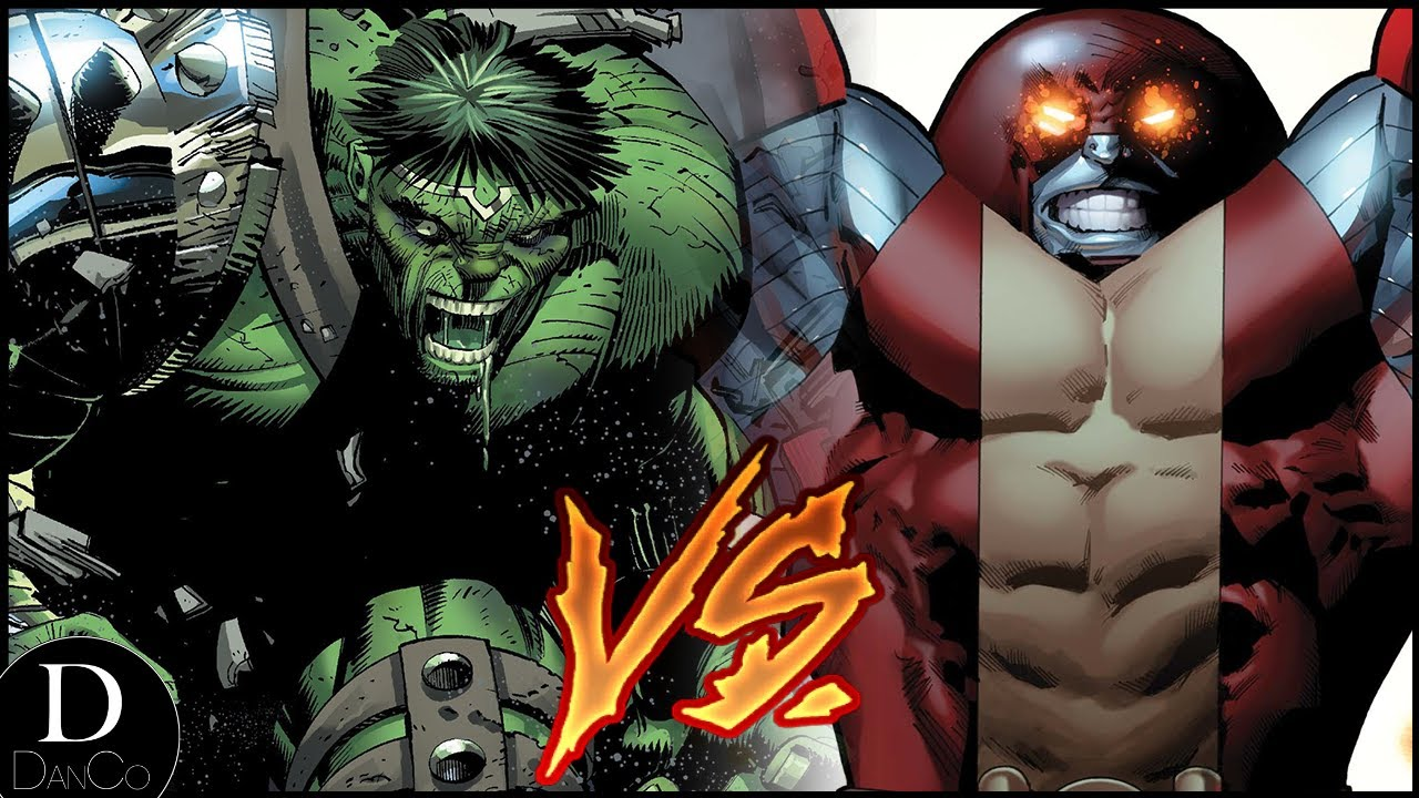 World War Hulk VS Unstoppable Colossus | BATTLE ARENA #1