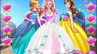 Мультик игра Супер Барби выходит замуж (Super Barbie Wedding Dress Up)