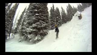 Snowboarding Utah 2014 - Mountain Cooler Sessions - Snowbird, Brighton, and Solitude
