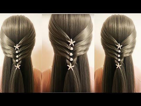 New  Wedding Guest Hairstyle || Rose Flower Braid Hairstyle|| Hairstyles and fashions thumbnail