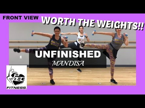 UNFINISHED    MANDISA    P1493 FITNESS®    CHRISTIAN FITNESS