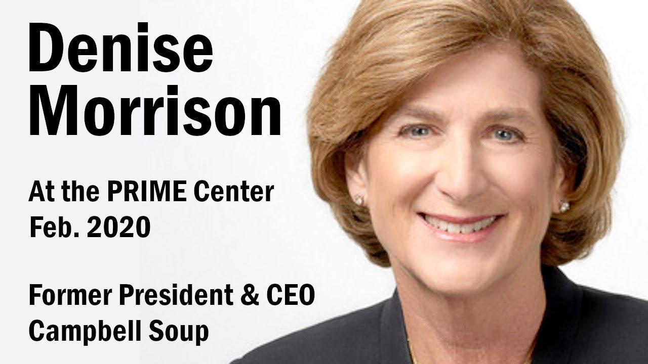 Denise Morrison PRIME talk