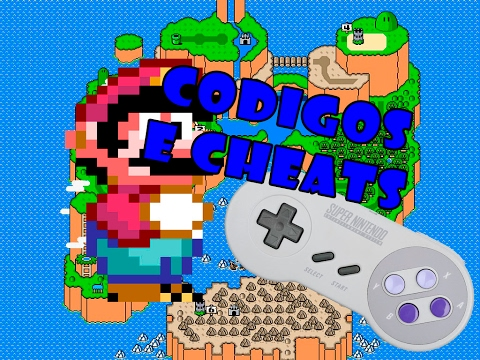 Códigos E Cheats Para Super Mario World
