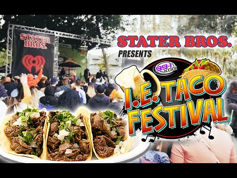 IE Taco Festival 2018 - Ft. Fat Joe, A Lighter Shade of Brown + more
