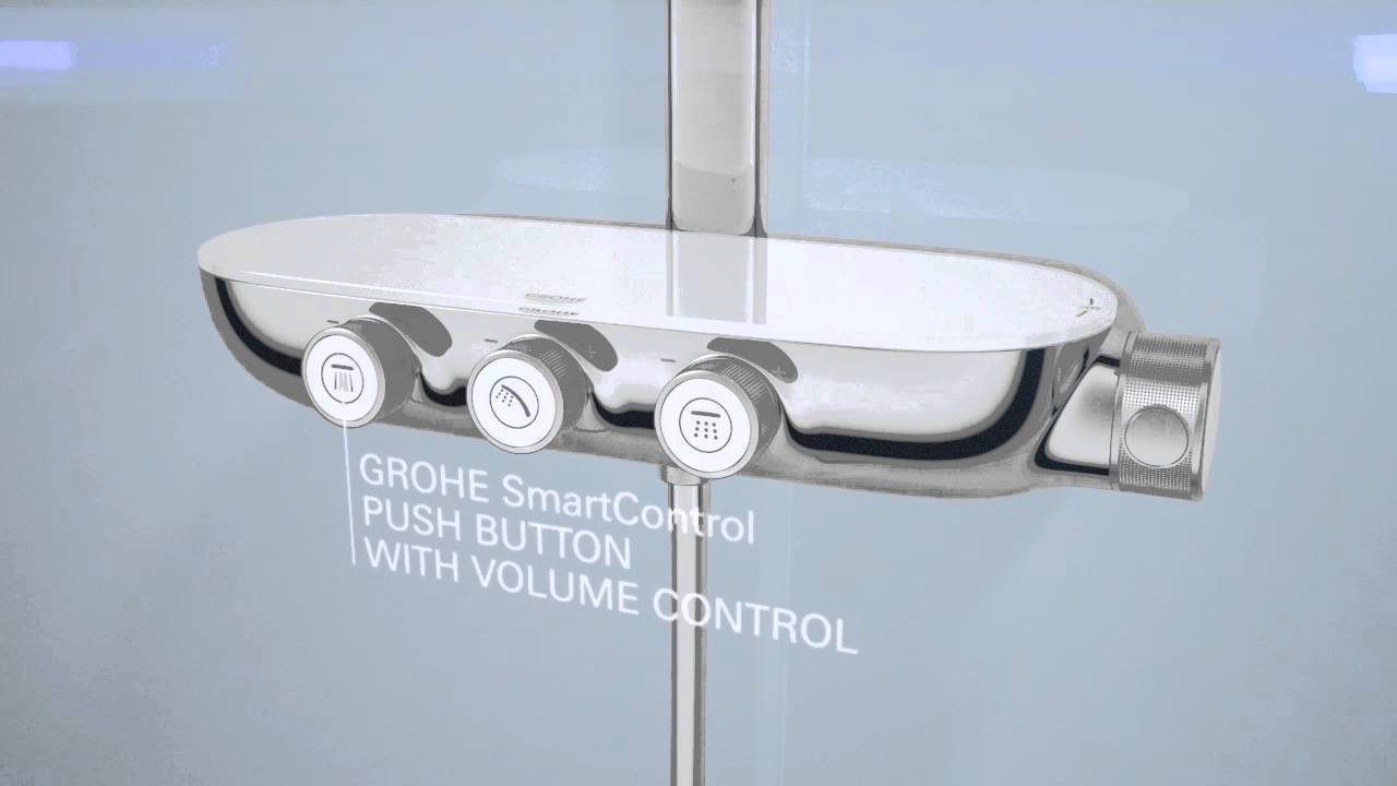 grohe smart control youtube. Black Bedroom Furniture Sets. Home Design Ideas