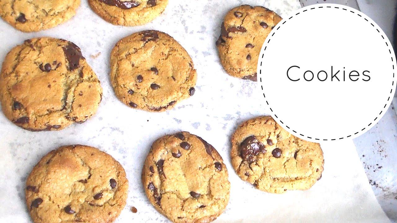 Ricetta Originale American Chocolate Chip Cookies - YouTube