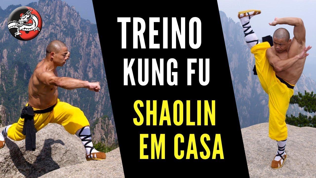 Treino de Kung Fu: Desafio Shaolin em Casa
