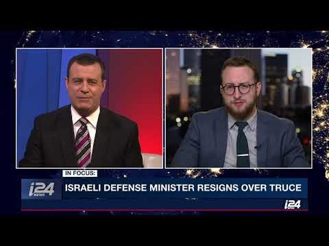 Algemeiner Editor Dovid Efune Discusses Gaza, Israel and Netanyahu on i24 News