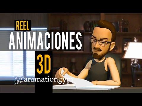 Reel final de Animaciones Curso Animación 3D AnimationGym.com   Alejandro Panameño (El Salvador)