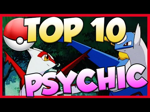 Top 10 Best Psychic Type Pokemon! Psychic Type Pokemon Facts, Stats, and Trivia!