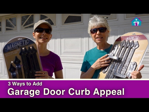 3 Ways to Add Curb Appeal to Your Garage Door