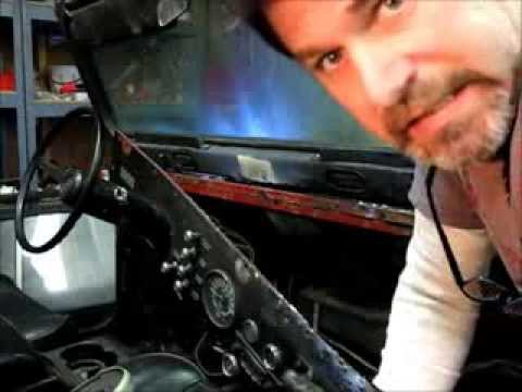 Jeep Cj7 Frame Swap Windshield Dashboard Steering Wheel Removal