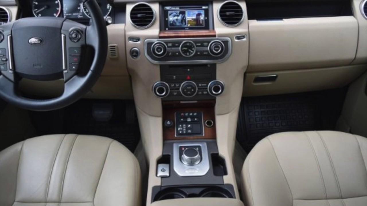 2016 Land Rover Lr4 Interior San Antonio