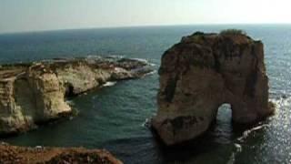 Бейрут. Голубиные скалы.