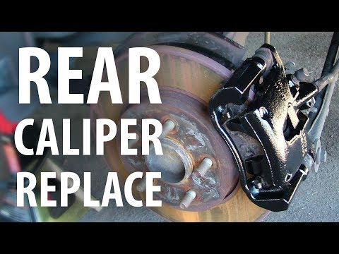 How to: Replace rear brake caliper (Ford Mondeo Mk3)