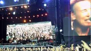 Bruce Springsteen - Glory Days + Twist and Shout (Milan 7-6-2012)