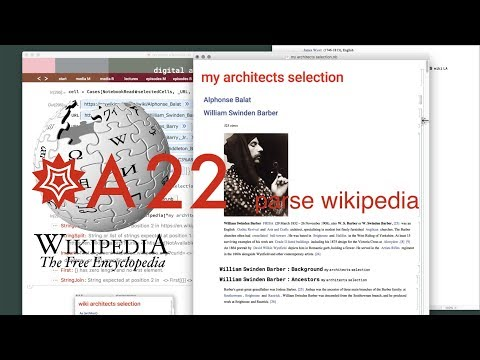 T22 parse wikipedia