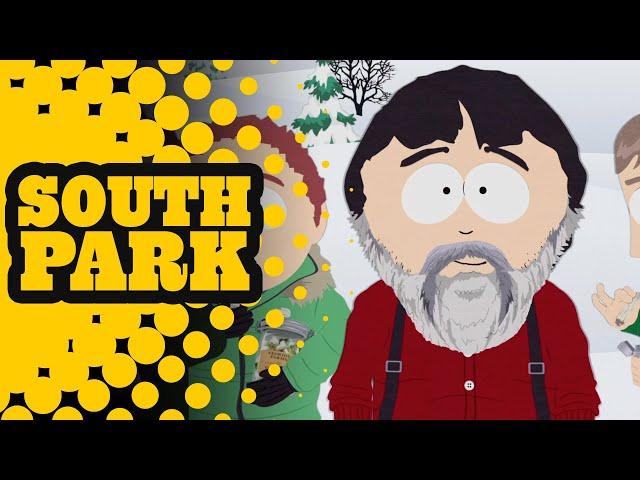 Marijuana-Free Christmas Snow - South Park -