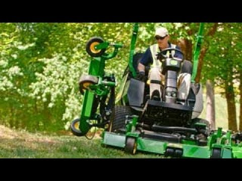 John Deere | 1600 Series Turbo III Wide Area Mower: Trimability