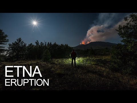 Etna eruption - 24.08.2018 (live sound)