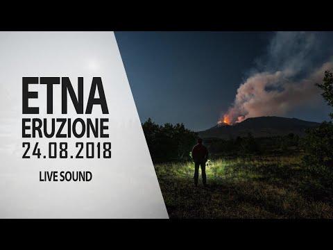 Etna - 24.08.2018 (live sound)