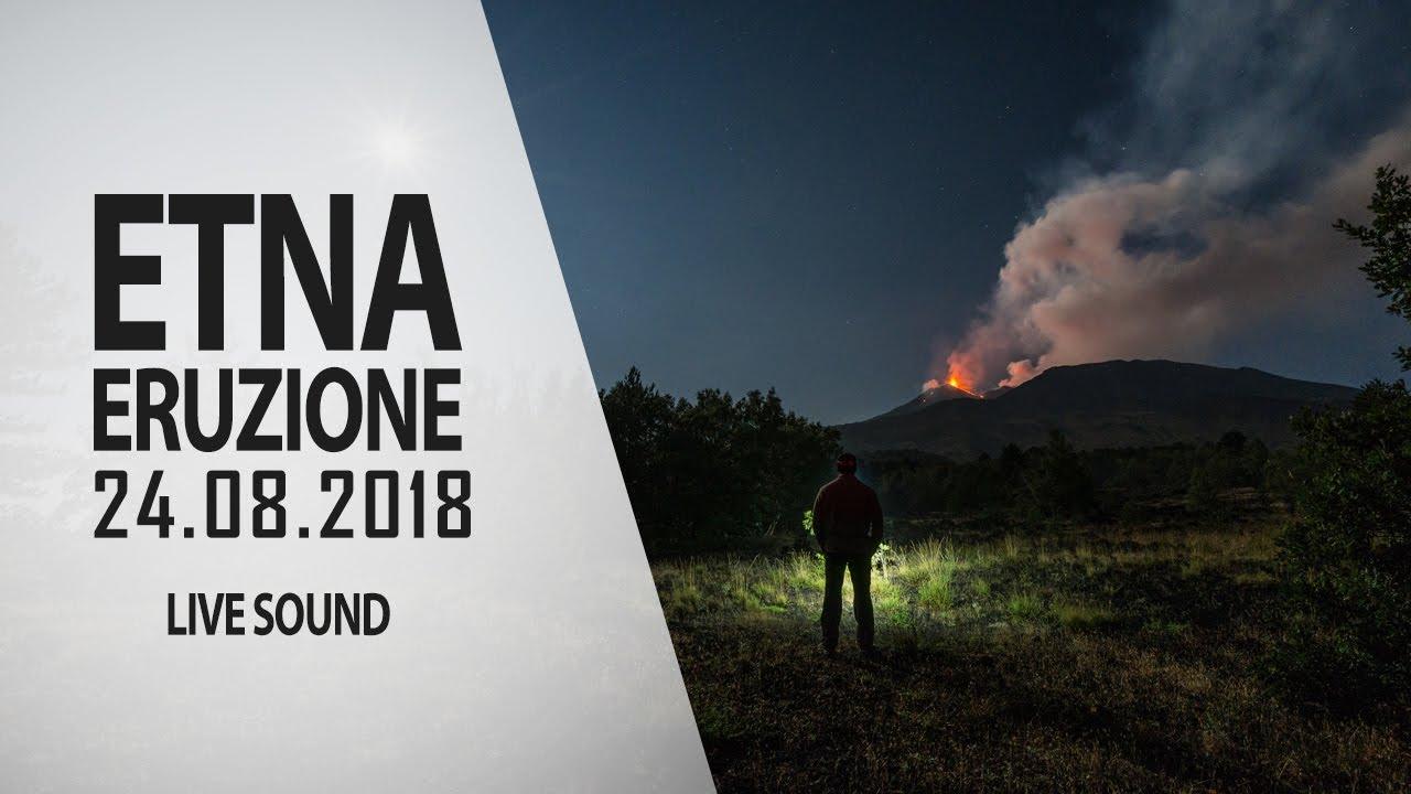 Ерупцијата на Етна пред Божиќ