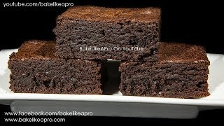 EASY Dark And Delicious Chocolate Fudge Brownies Recipe