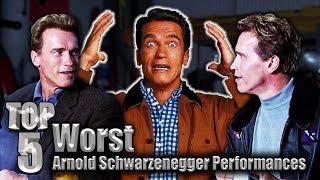 Top 5 Worst Arnold Schwarzenegger Performances