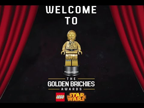 The LEGO STAR WARS Golden Brickies Awards