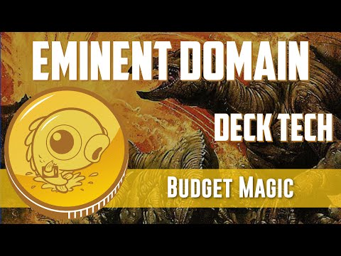 Budget Magic: $70 (21 Tix) Modern Eminent Domain (Deck Tech)