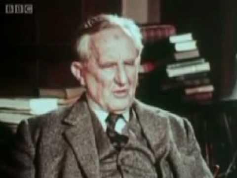 BBC Archival FootageIn Their Own Words British Authors J.R.R. Tolkien Part 1