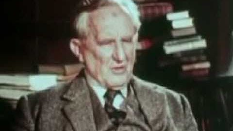 BBC Archival Footage-In Their Own Words British Authors J.R.R. Tolkien Part 1