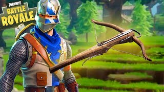 "CROSSBOW coming to Fortnite: Battle Royale? (New ""SECRET"" Stealth Weapon)"