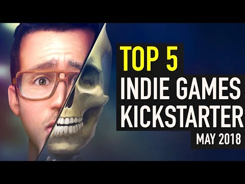 Top 5 Indie Games on Kickstarter May 2018
