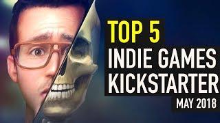 Top 5 Indie Games on Kickstarter - May 2018