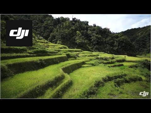 DJI S800 Flying Over Banaue Rice Terraces in Philippines