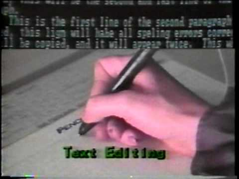 1985: Pencept PenPad: Software Control at the Stroke of a Pen