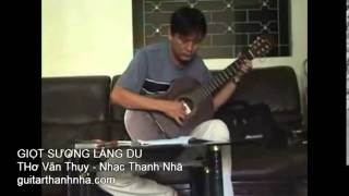GIỌT SƯƠNG LÃNG DU - Guitar Solo