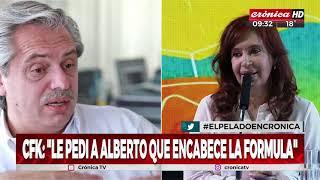 Fin del misterio: Alberto Fernández presidente - Cristina Vice (1/2)
