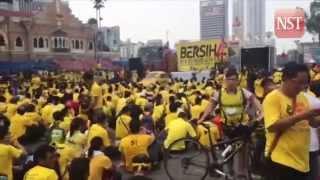 Bersih 4 day 2: Fewer rally goers in the morning