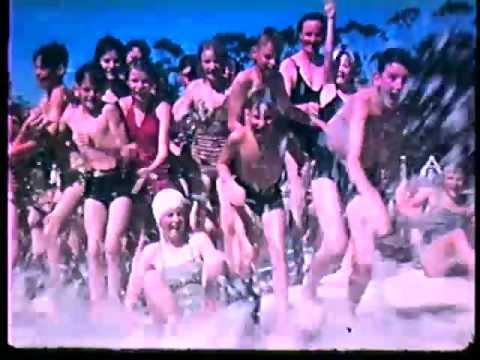 Christmas Awards & Geelong Beach Trip 1950s