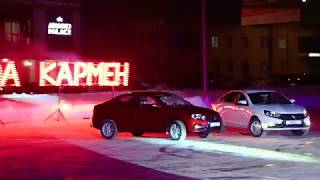 Открытие нового автосалона LADA