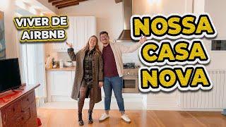 TOUR PELA NOSSA CASA NOVA NA TOSCANA 😍