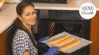 Paszteciki z kapustą i grzybami. Przepis jak zrobić ciasto drożdżowe i smaczny farsz.  MENU Dorotki