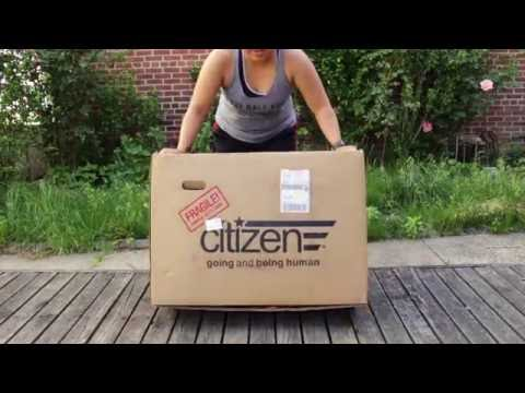 Citizen Tokyo Folding Bike UNBOXING and first look