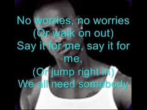 Simon Webbe- No worries with lyrics