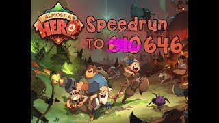 Almost A Hero - Speedrun To 646 | Ring Strat