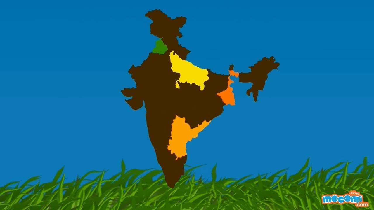Food Crops Of India Geography For Kids Kids Education By Mocomi